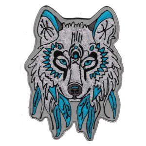 wolf custom patch